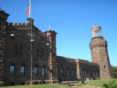 The Navesink Highlands Light Station North Station image. Click for full size.