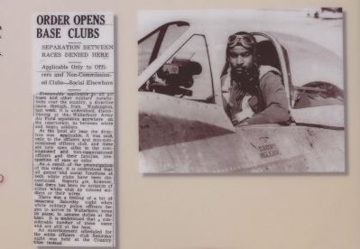 Lower right newspaper clipping and picture image. Click for full size.