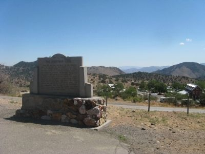 The Comstock Lode Marker image. Click for full size.
