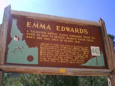 Emma Edwards Marker image. Click for full size.