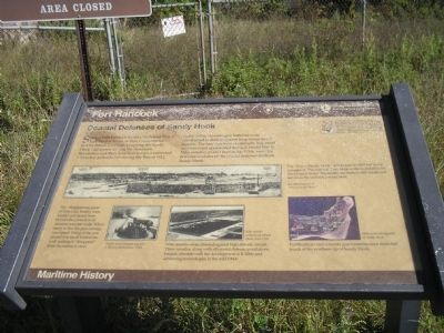 Fort Hancock Marker image. Click for full size.