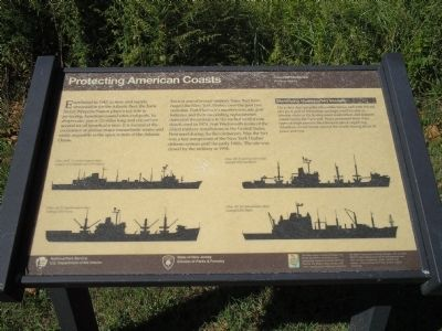 Protecting American Coasts Marker image. Click for full size.