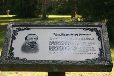 Major Hiram Solon Hanchett Marker image. Click for full size.