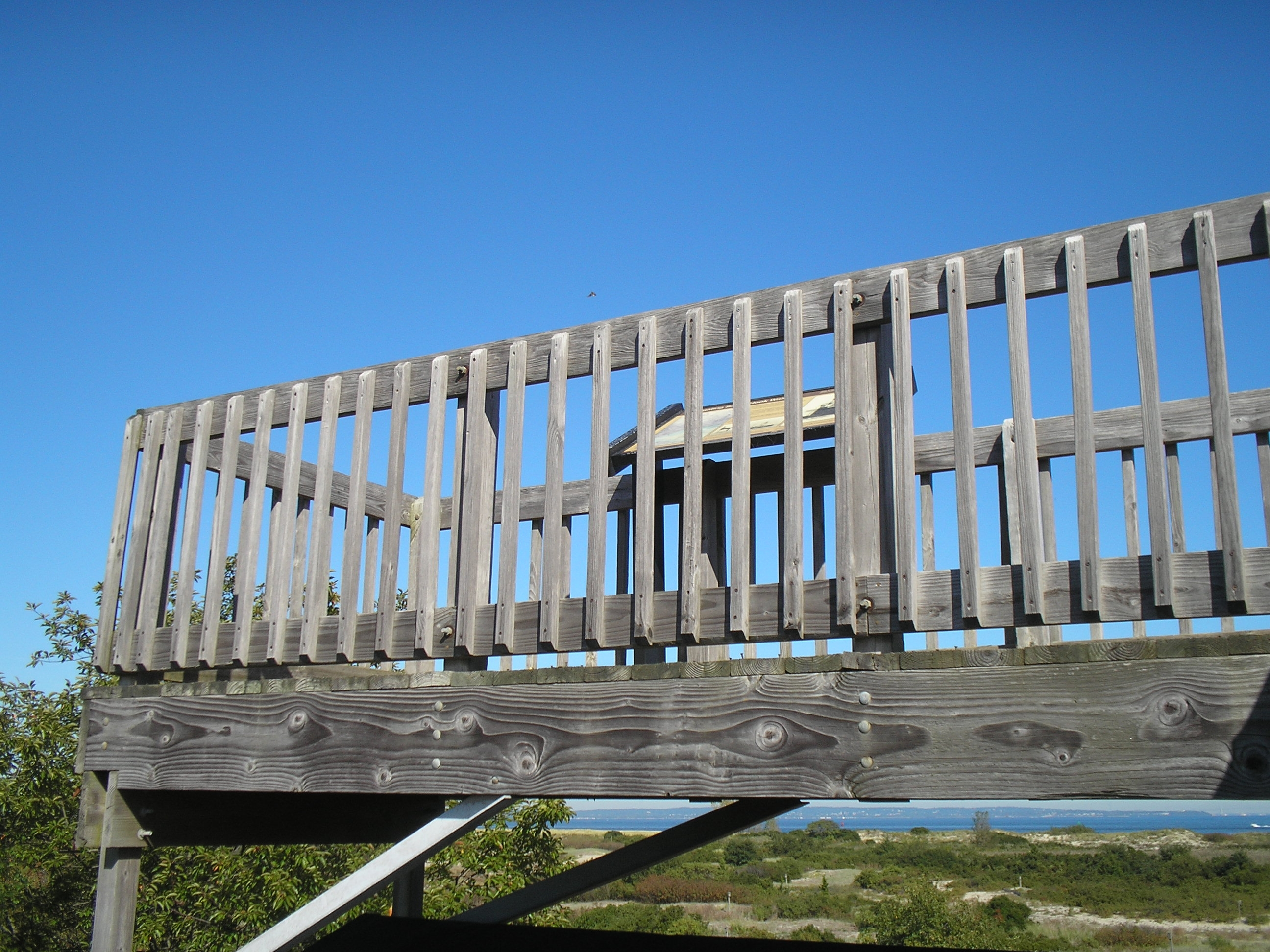 Observation Deck at Sandy Hook