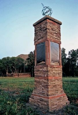 Pike's Stockade Marker image. Click for full size.
