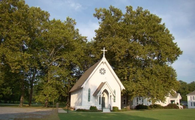St. Stephen's Church, Heathsville, Virginia image. Click for full size.