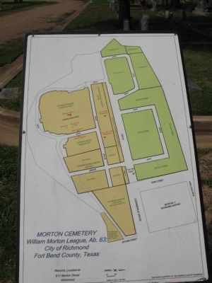 Cemetery map image. Click for full size.