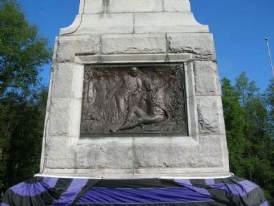 The Base of the Battle of Oriskany Monument image. Click for full size.