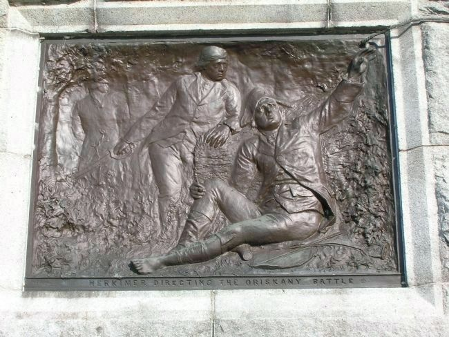 Detail of The Battle of Oriskany Monument image. Click for full size.