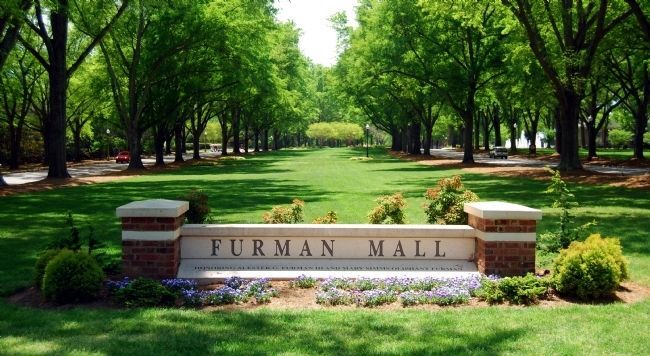 Furman University Mall image. Click for full size.