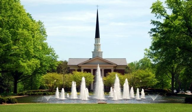 Daniel Chapel on Furman University Campus image. Click for full size.