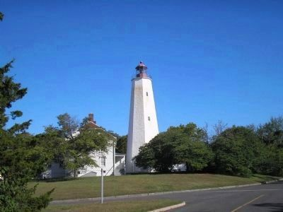 Sandy Hook Lighthouse image. Click for full size.