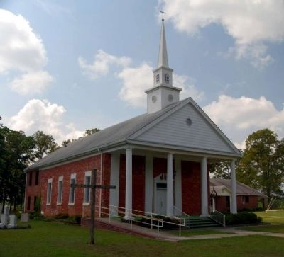 Lebanon United Methodist Church (1850s) image. Click for full size.
