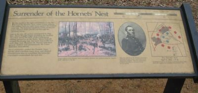 Surrender of the Hornets' Nest Marker image. Click for full size.