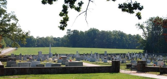 Fairview Cemetery -<br> Surrounded by a Field Stone Wall image. Click for full size.