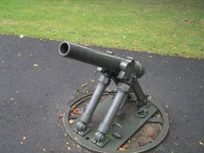 Spanish American War Cannon image. Click for full size.