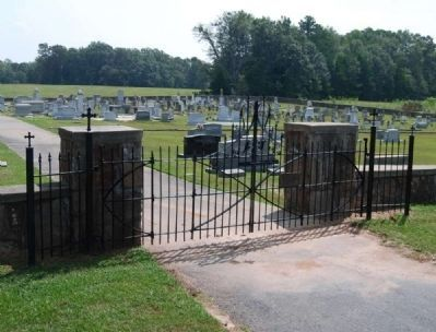 Fairview Cemetery Gate image. Click for full size.