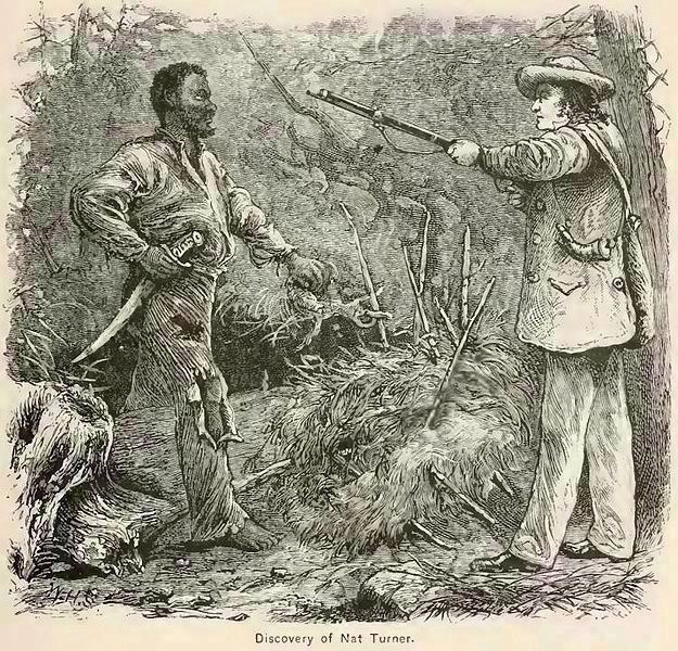 """The Discovery of Nat Turner"" image. Click for more information."