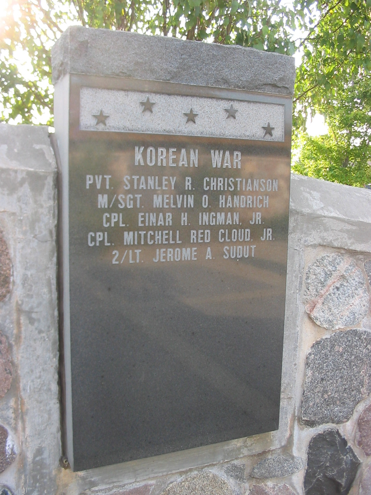 Korean War Recipients