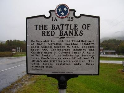The Battle of Red Banks / Reunion for the Boys in Blue Marker image. Click for full size.