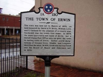 The Town of Erwin image. Click for full size.