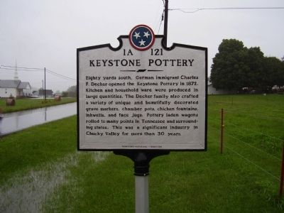 Keystone Pottery Marker image. Click for full size.
