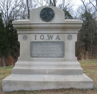 7th Iowa Infantry Regiment Monument image. Click for full size.