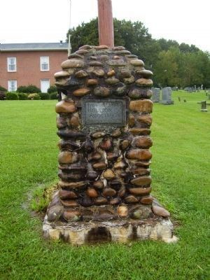 Holston Association Marker and Cherokee Baptist Church image. Click for full size.