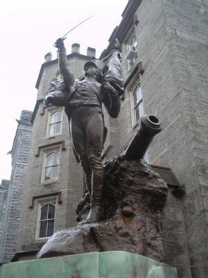 Cadet Monument Statue image. Click for full size.