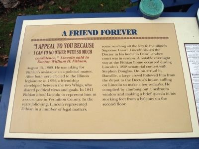 Left Panel - - A Friend Forever Marker image. Click for full size.