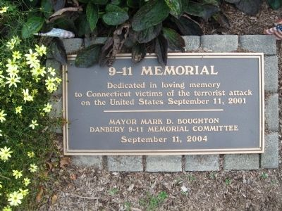 Danbury 9-11 Memorial Marker image. Click for full size.