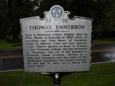Thomas Emmerson Marker image. Click for full size.