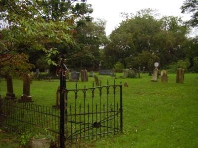 Cemetery where Thomas Emmerson is buried. image. Click for full size.