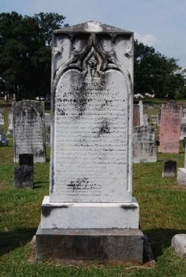 Adam Stenhouse Tombstone image. Click for full size.