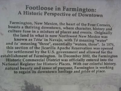 Footloose in Farmington Marker image. Click for full size.