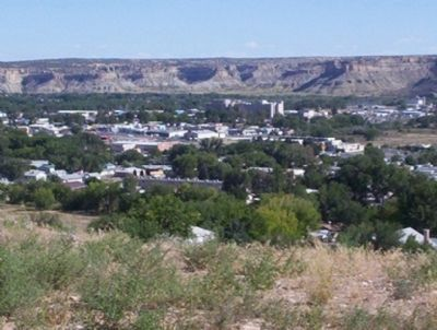 View of Farmington From Hill Near The Airport image. Click for full size.