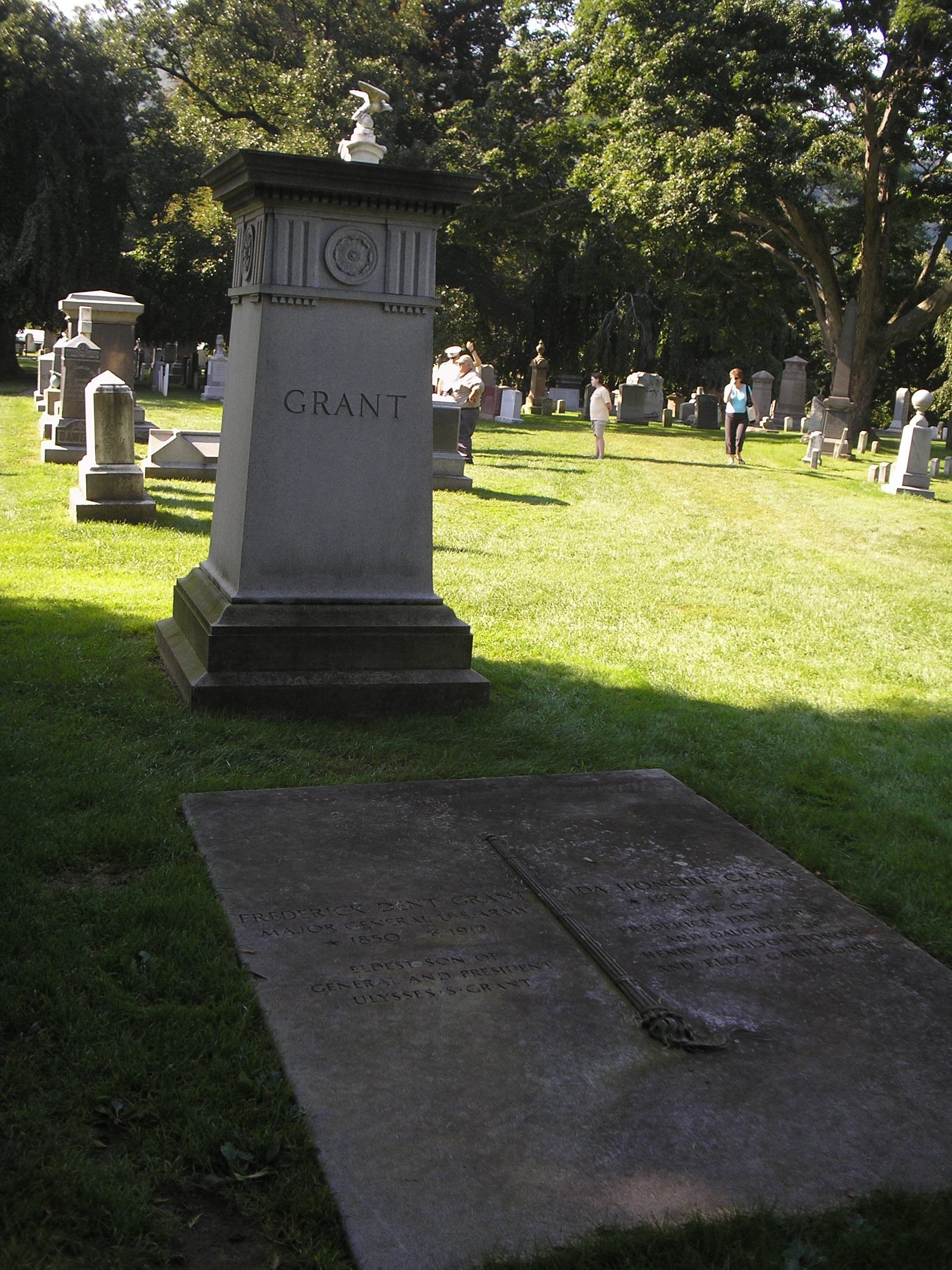 Marker in West Point Cemetery