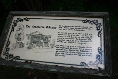 The Crocheron Columns Marker image. Click for full size.