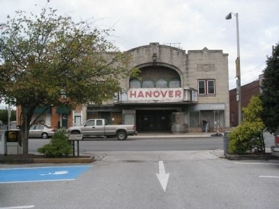Old Hanover Theater image. Click for full size.