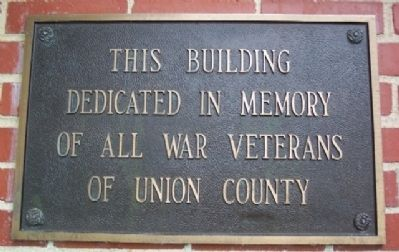 American Legion Post Building in Memorial Park Marker image. Click for full size.