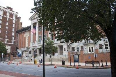 York County Administrative Center, former York County Court House. image. Click for full size.