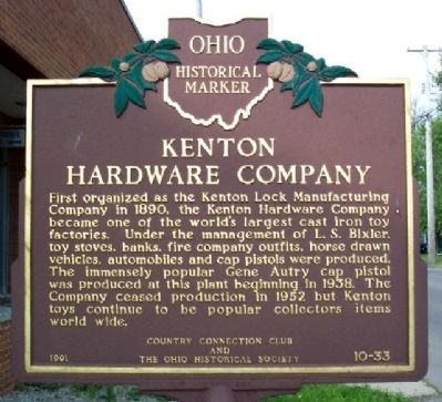 Kenton Hardware Company Marker image. Click for full size.