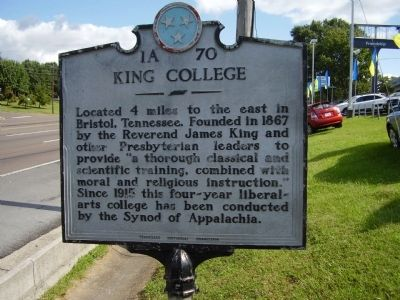 King College Marker image. Click for full size.
