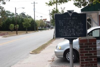 Holly Hill Marker looking south along State Street image. Click for full size.