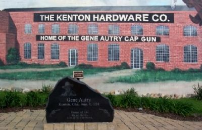 Kenton Hardware Co. Mural in Gene Autry Park image. Click for full size.