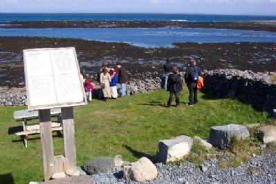 Welcome to Port Corrúch Seal Colony / Failte go Port Corrúch Marker image. Click for full size.