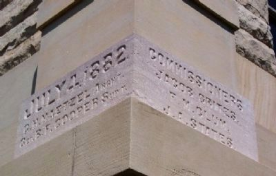 Allen County Courthouse Cornerstone image. Click for full size.