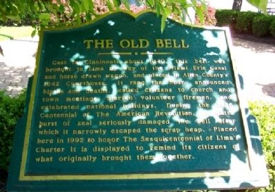 The Old Bell Marker image. Click for full size.
