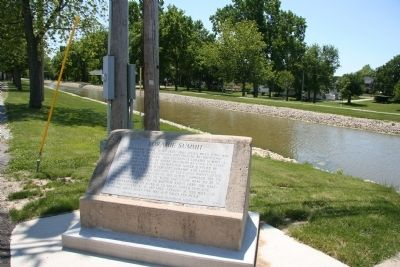 Loramie Summit Marker image. Click for full size.