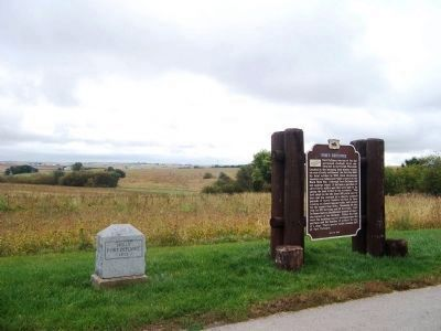 Fort Defiance Marker Site image. Click for full size.